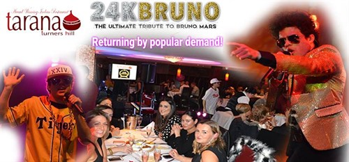 24K Bruno Mars The Ultimate Tribute Show