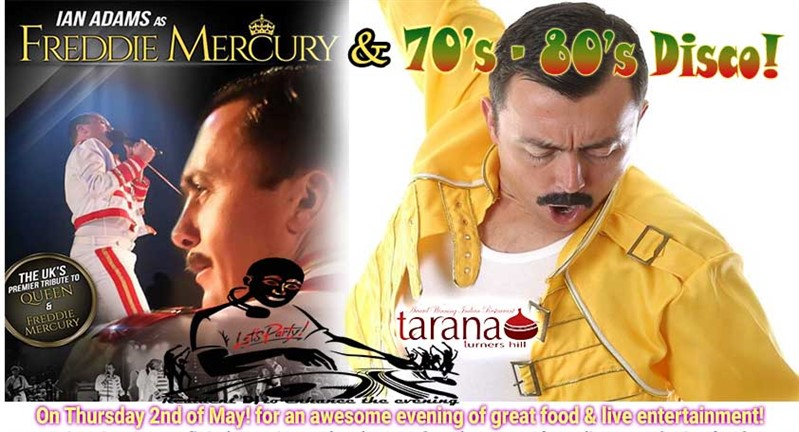 Queen Freddie Mercury 70 80S Disco Tarana