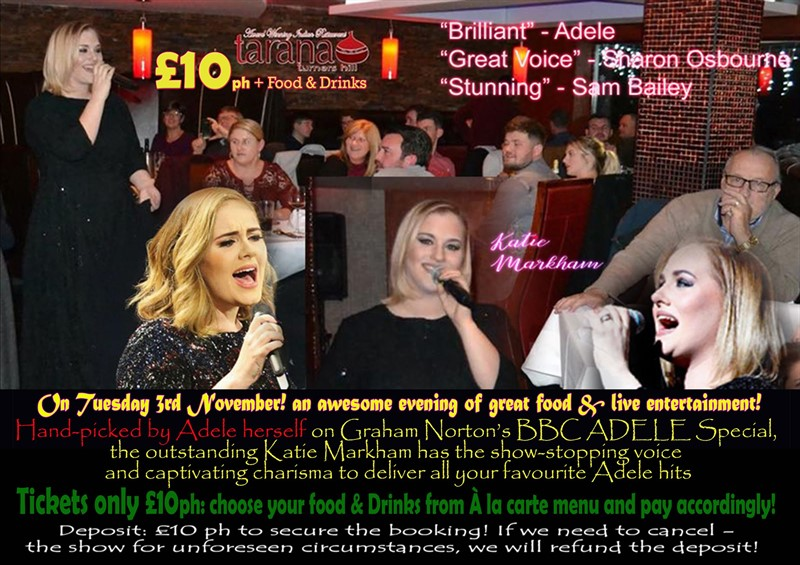 Adele One And Only Tribute